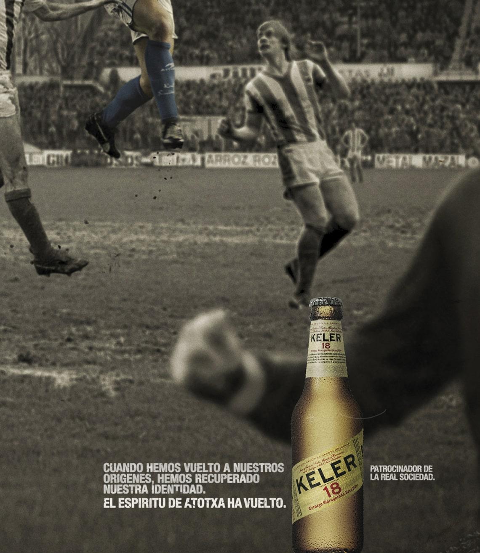 Keler - Real Sociedad - Grupo Damm